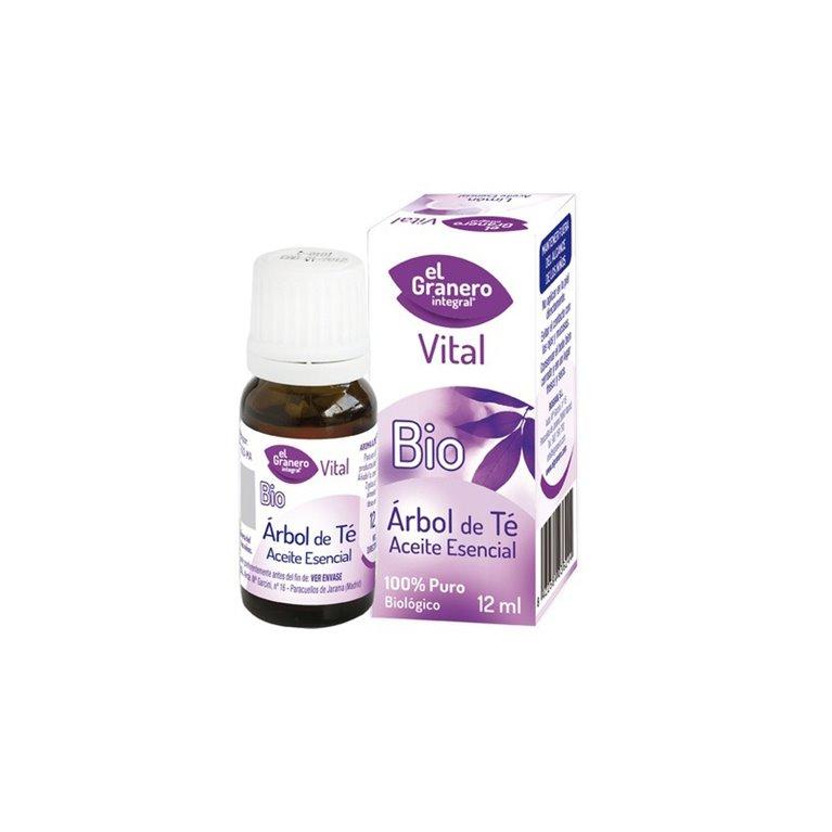 Aceite Esencial de Arbol de Té  Bio, 12 ml El Granero Integral