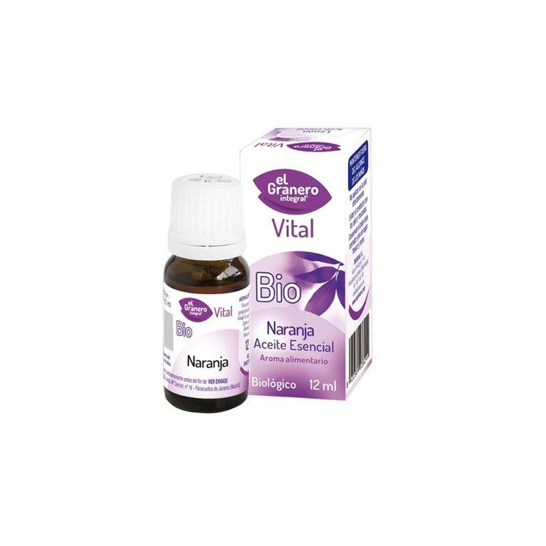 Aceite Esencial de Naranja  Bio, 12 ml El Granero Integral