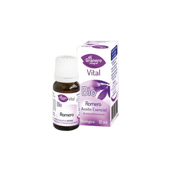 Aceite Esencial de Romero  Bio, 12 ml El Granero Integral