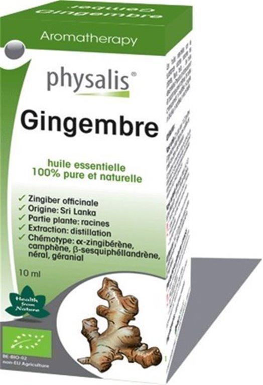 Aceite Esencial Jengibre, 1 ud