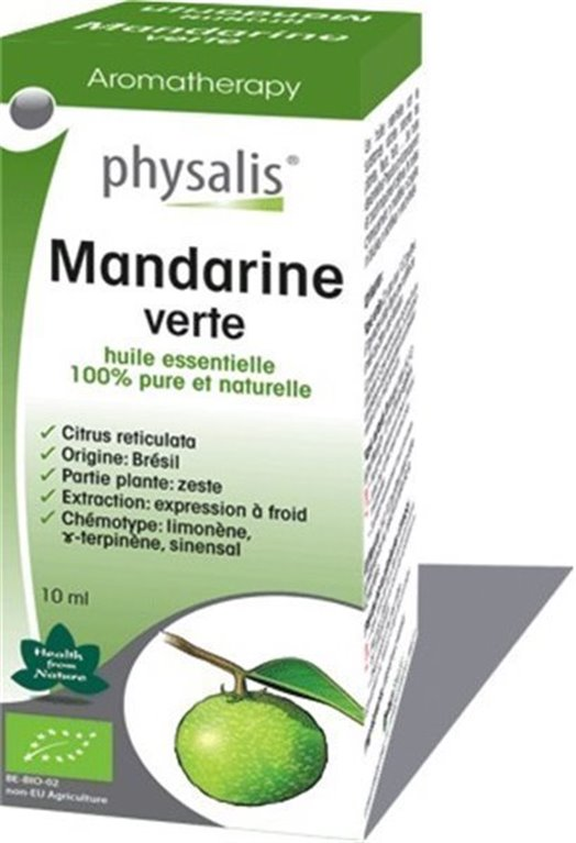 Aceite Esencial Mandarina Verde, 1 ud