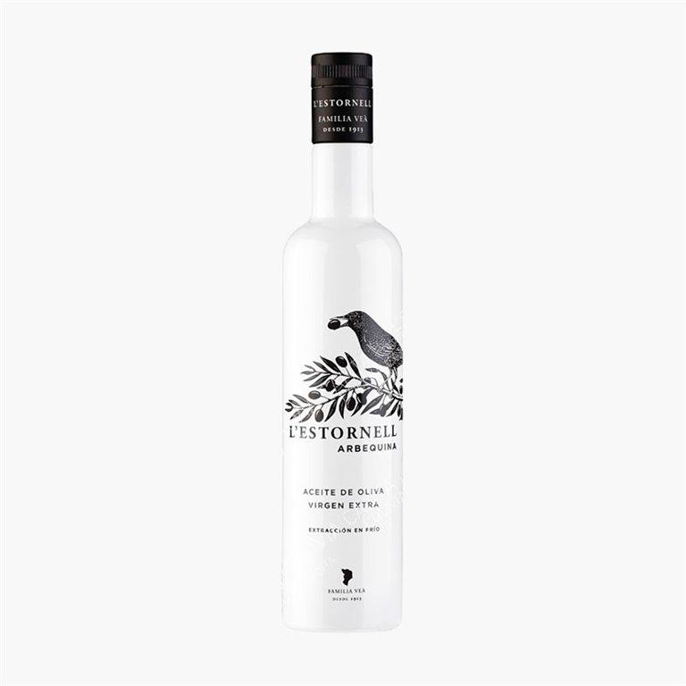 Aceite Estornell Arbequina 500 ml Veà