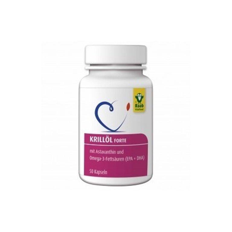 Aceite Krill Forte 50 Cap 735 Mg Astaxntina+Omega-3+Epa+Dha