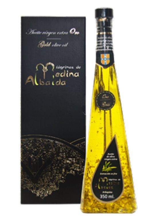 Aceite Medina Albaida con virutas de oro, 1 ud