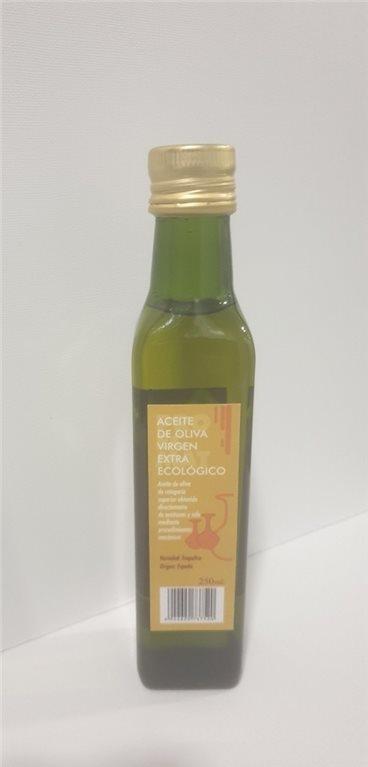 Aceite Oliva botella cristal 250ml.