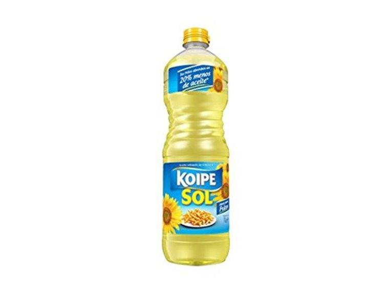 Aceite refinado de Girasol KoipeSol 1L, 1 ud
