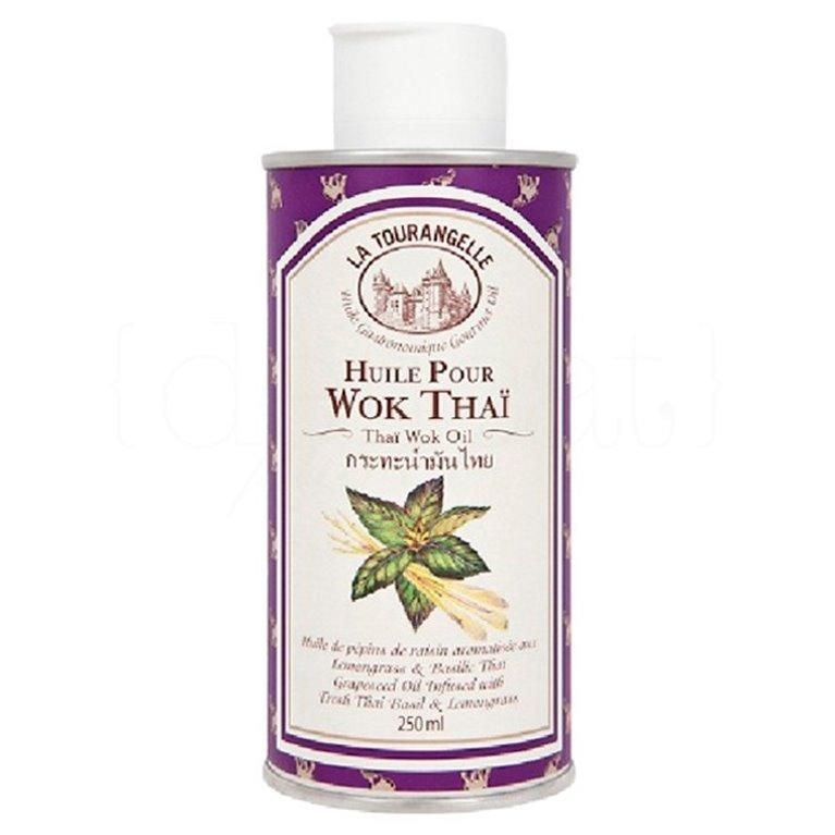 Aceite Thaï Wok 25cl. La Tourangelle. 6un., 1 ud