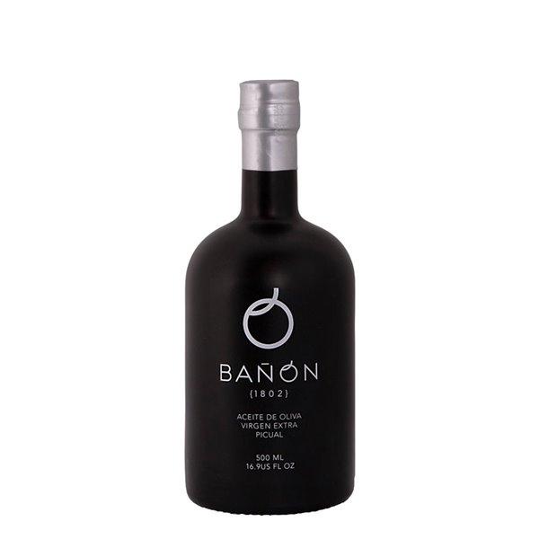 Aceites Bañón - Cosecha Temprana - Picual - Botella 500 ml