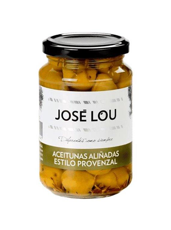 Aceituna aliñada estilo provenzal José Lou