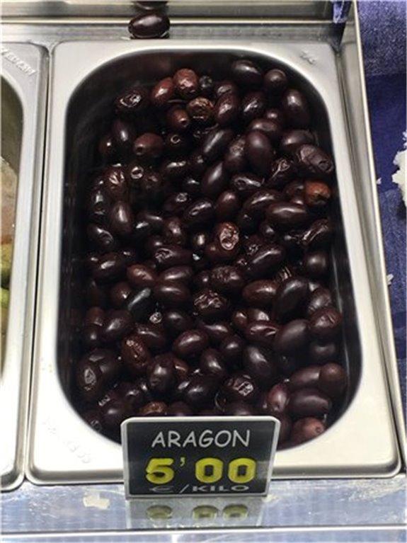 Aceituna Aragón