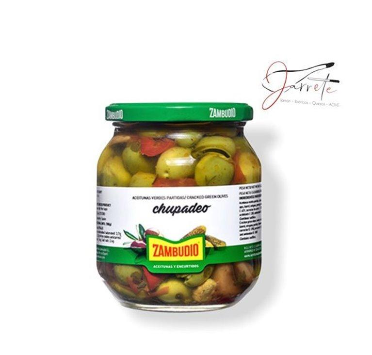 Aceituna Chupadeo - Tarro, 620 gr