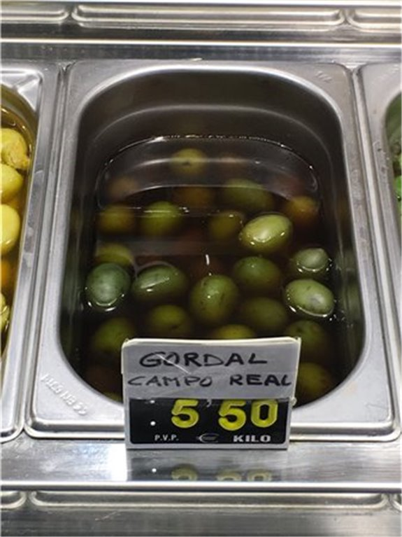 Aceituna gordal del campo real