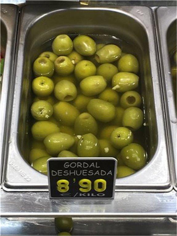 Aceituna Gordal deshuesada