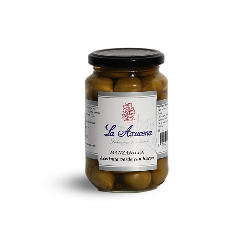 Aceituna Manzanilla con hueso La Azucena