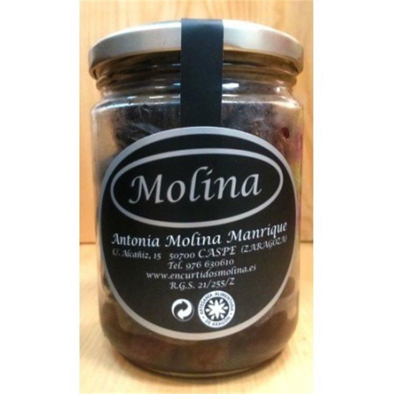 Aceituna negra Aragón arrugada Molina, 1 ud