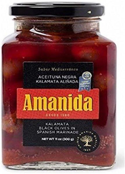 Aceituna negra Kalamata Amanida