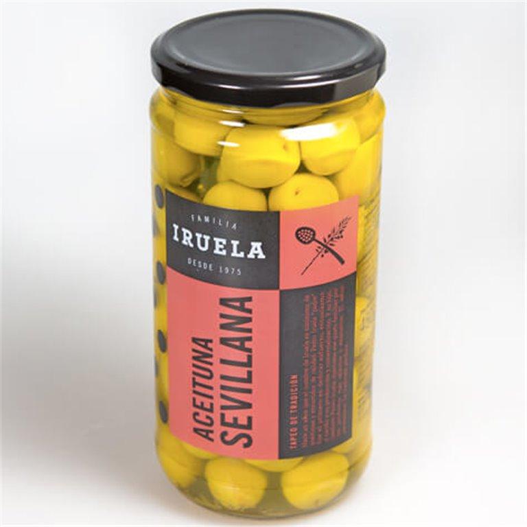 Aceituna sevillana con hueso Iruela