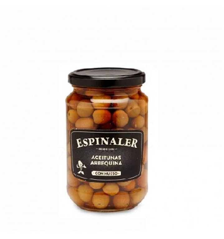 Aceitunas Arbequinas Espinaler Tarro 220 gr.