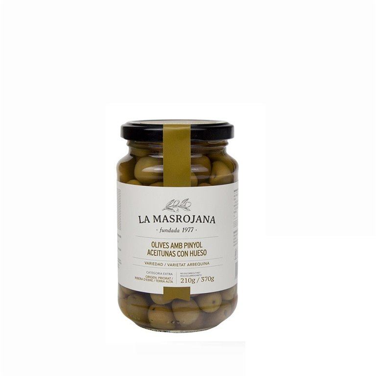 Aceitunas Arbequinas La Masrojana 220 gr., 1 ud