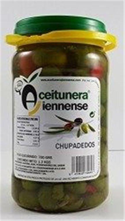 Aceitunas Chupadedos 700 Grs