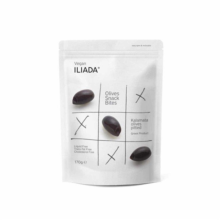 Pitted Kalamata Olives 170g Iliada