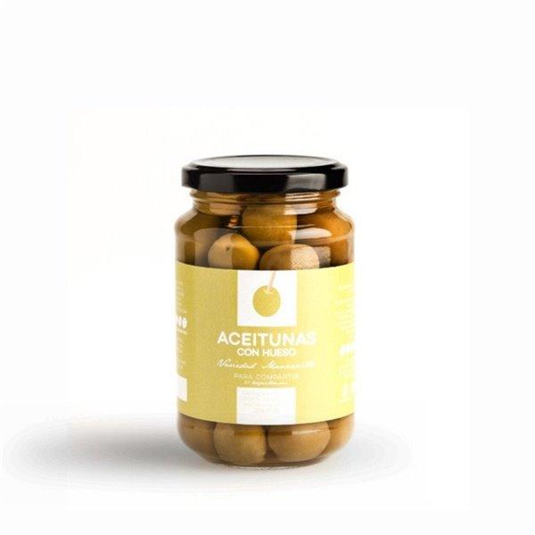 Aceitunas Manzanilla Para Compartir by Tuaperitivo.com 220 gr.