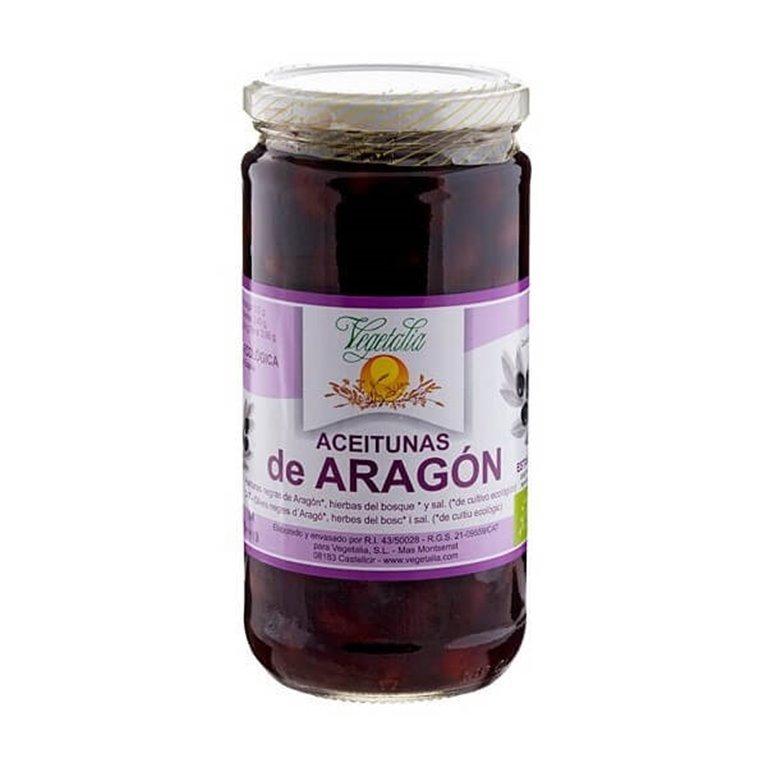 Aceitunas negras de Aragón, 500 gr