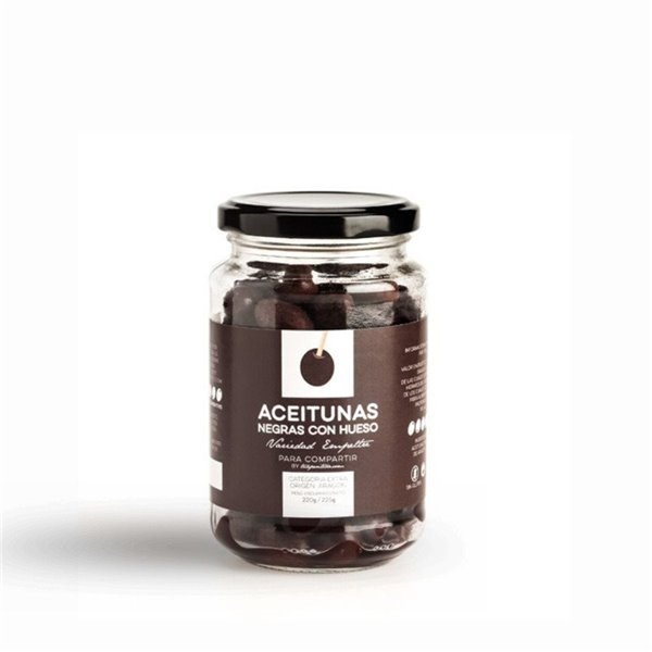 Aceitunas Negras de Aragón Para Compartir by Tuaperitivo.com