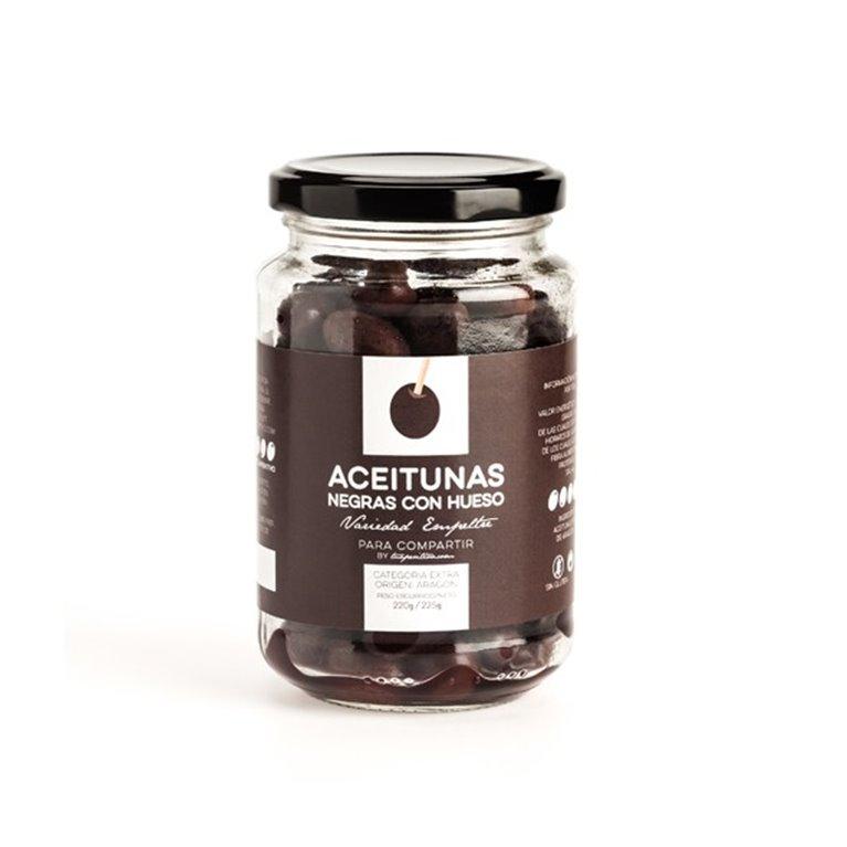 Aceitunas Negras de Aragón Para Compartir by Tuaperitivo.com, 1 ud