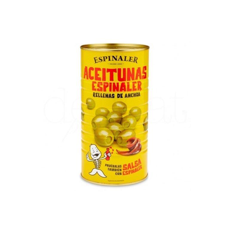 Aceitunas Rellenas de Anchoa Espinaler 1450 gr., 1 ud
