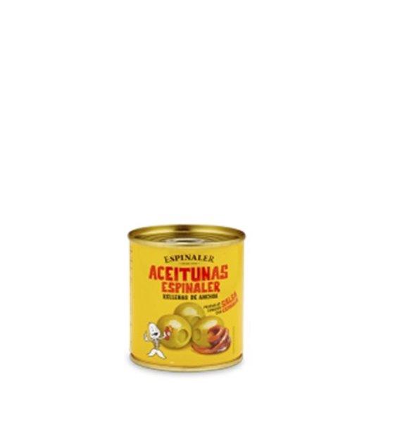 Aceitunas Rellenas de Anchoa Espinaler 200 gr.