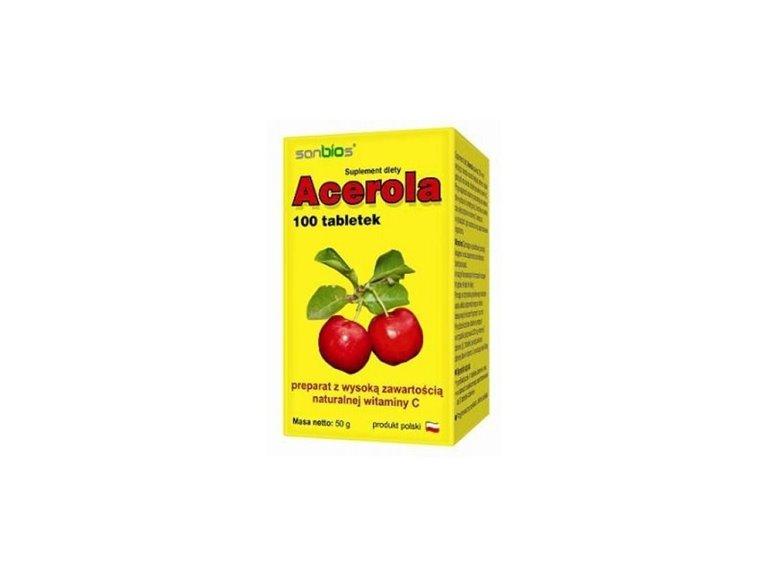 Acerola 500mg - 100 comprimidos