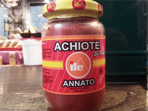 Achiote en pasta 230g