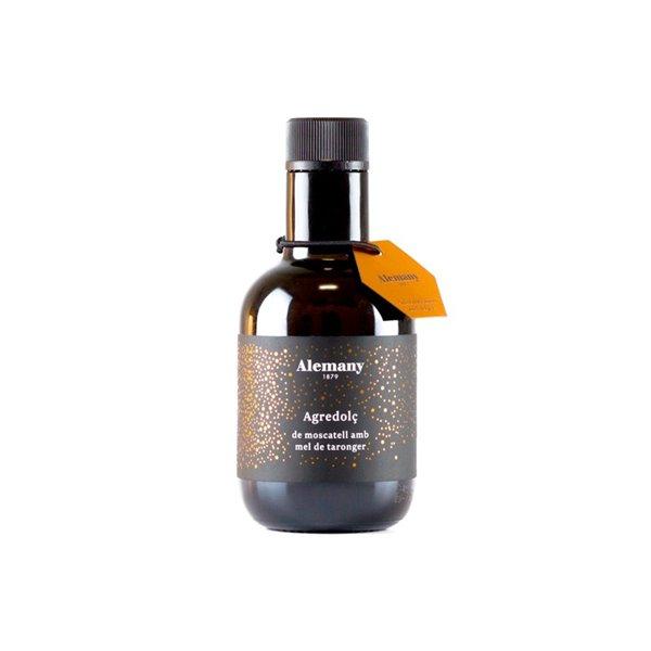 Agridulce de moscatel con miel de naranjo