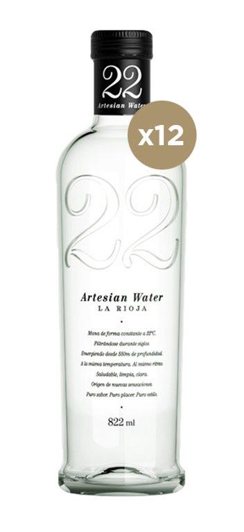 Agua 22 Artesian 822ML 12 Unidades