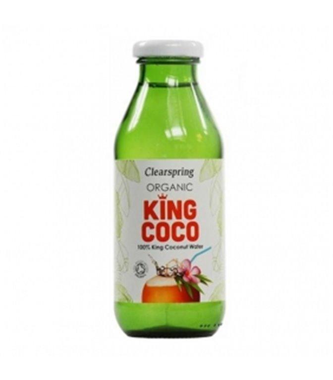 Agua de Coco 350ml. Clearspring. 6un.