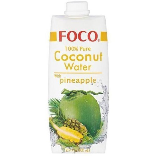 Agua de Coco con Piña 330ml