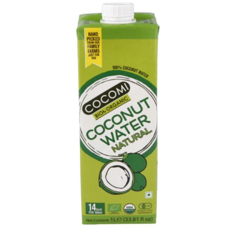 Agua de Coco con Piña (Sin Azúcar) Bio 330ml