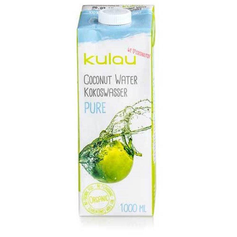 Agua de coco pura  1l. - Kulau