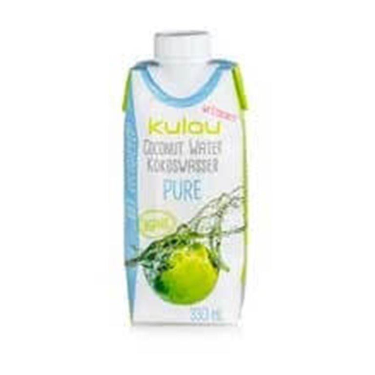 Agua de coco pura  300 ml -  - Kulau