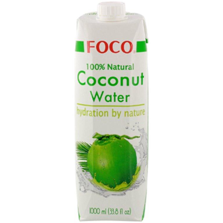 Agua de Coco 100% Pura 12L (12 x 1L)