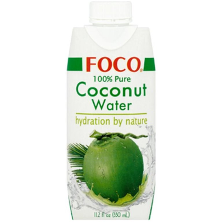Agua de Coco 100% Pura 3,96L (12 x 330ml)