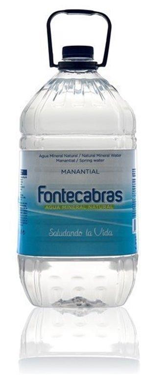 Agua Fontecabras garrafa 5l
