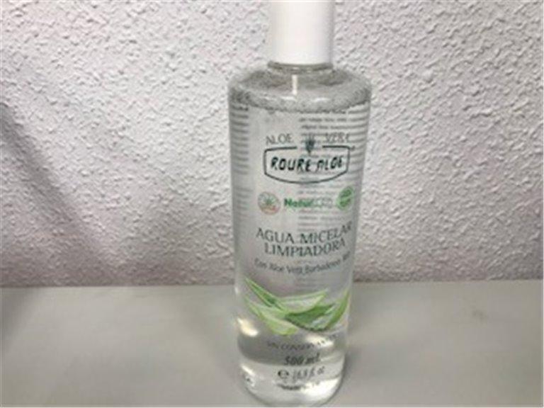Agua micelar limpiadora, 1 ud
