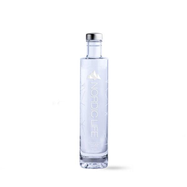 Agua Nordic Life Premium Envase Vidrio 50 cl.