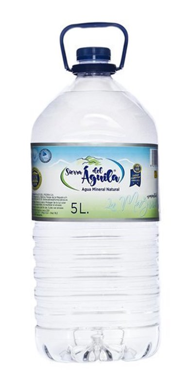 Agua Sierra del Águila garrafa 5l