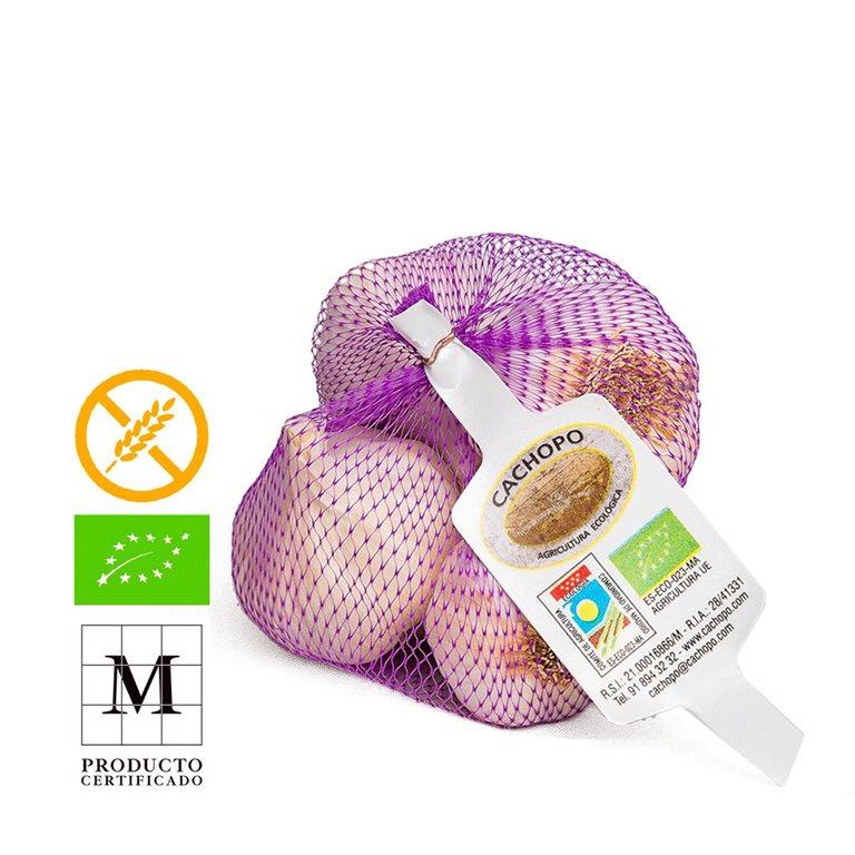 Spanish Purple Garlic, Mesh 250gr