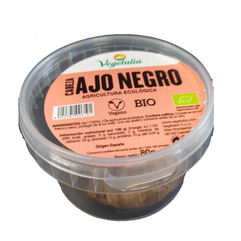 Ajo Negro Bio 80g (2 Cabezas), 1 ud