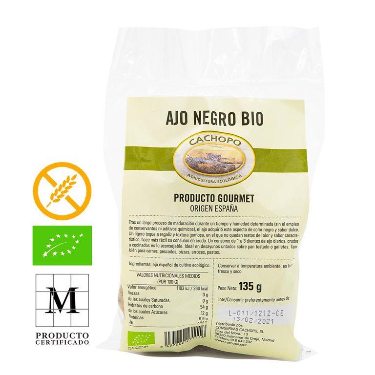Organic Black Garlic, Pack 135gr