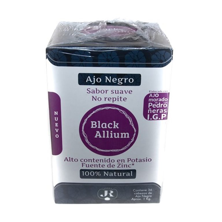 Ajo Negro Black Allium 36 cabezas, 36 ud
